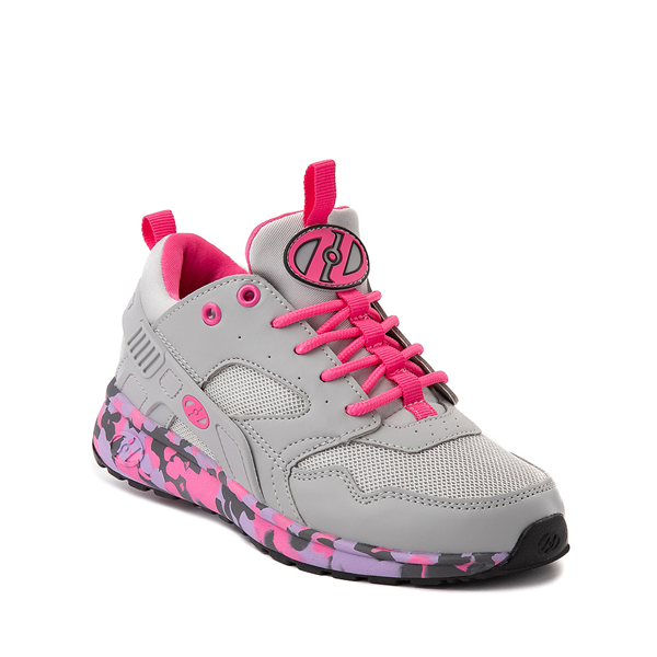 alternate view Heelys Force Skate Shoe - Little Kid / Big Kid - Gray / PinkALT5