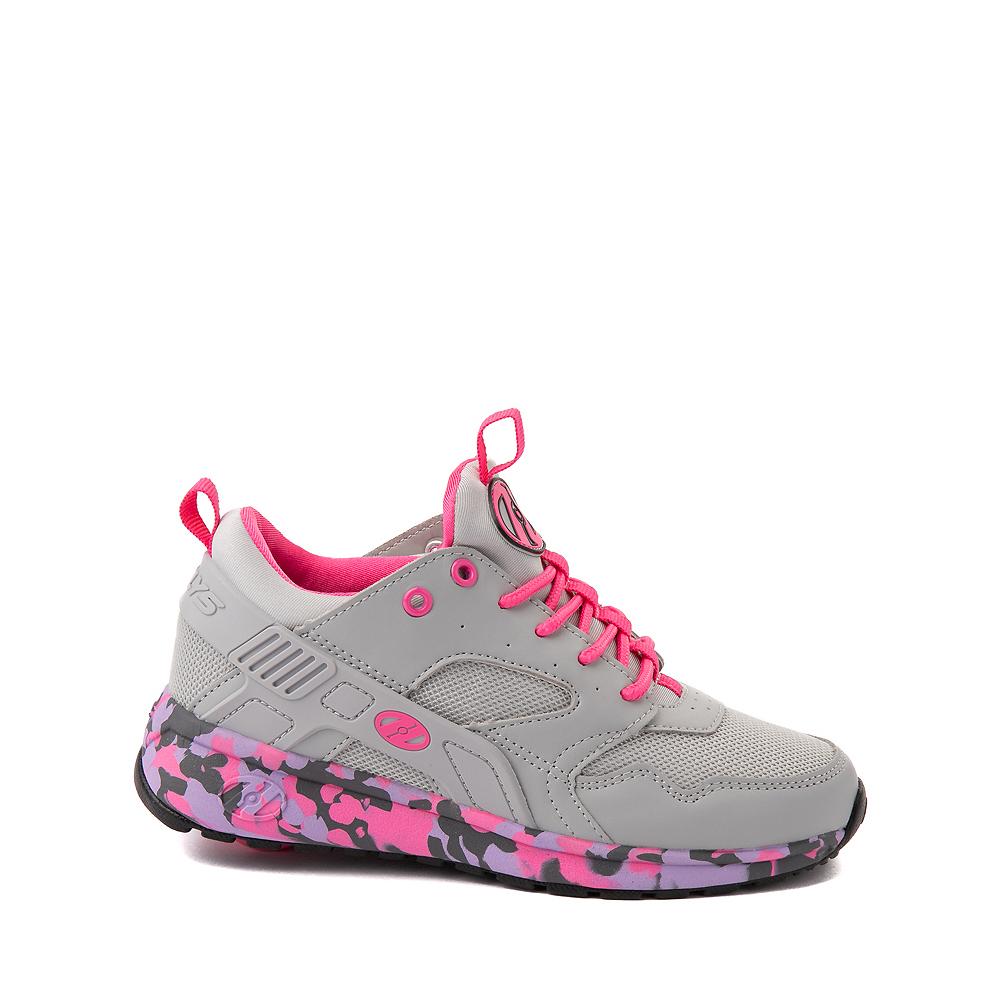 Heelys Force Skate Shoe - Little Kid / Big Kid - Gray / Pink