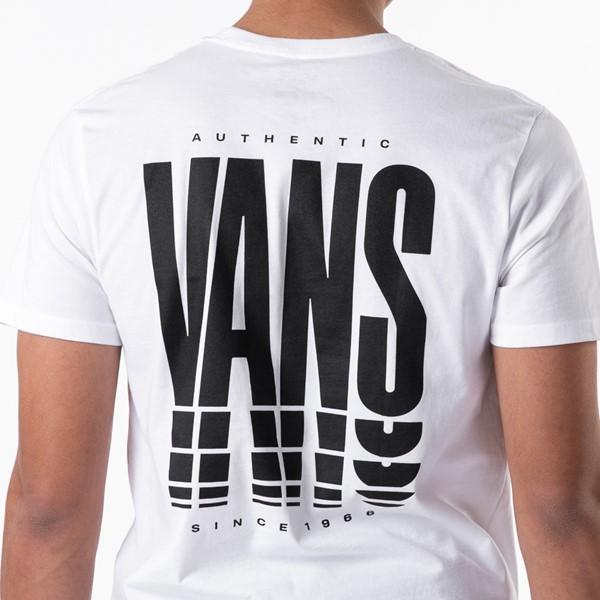 alternate view Mens Vans Reflect Tee - WhiteALT1B