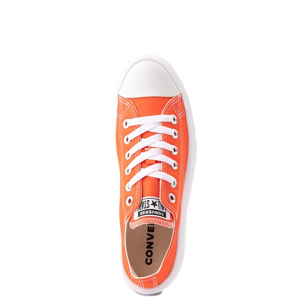 alternate view Womens Converse Chuck Taylor All Star Lo Move Platform Sneaker - Bright PoppyALT2