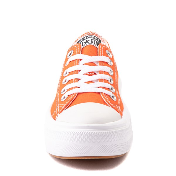 alternate view Womens Converse Chuck Taylor All Star Lo Move Platform Sneaker - Bright PoppyALT4