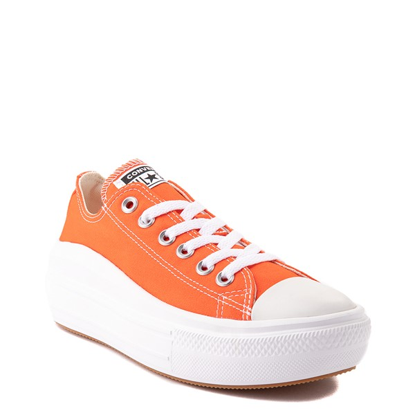 alternate view Womens Converse Chuck Taylor All Star Lo Move Platform Sneaker - Bright PoppyALT5