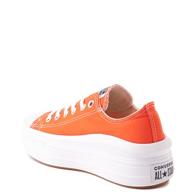 Alternate view of Womens Converse Chuck Taylor All Star Lo Move Platform Sneaker - Bright Poppy