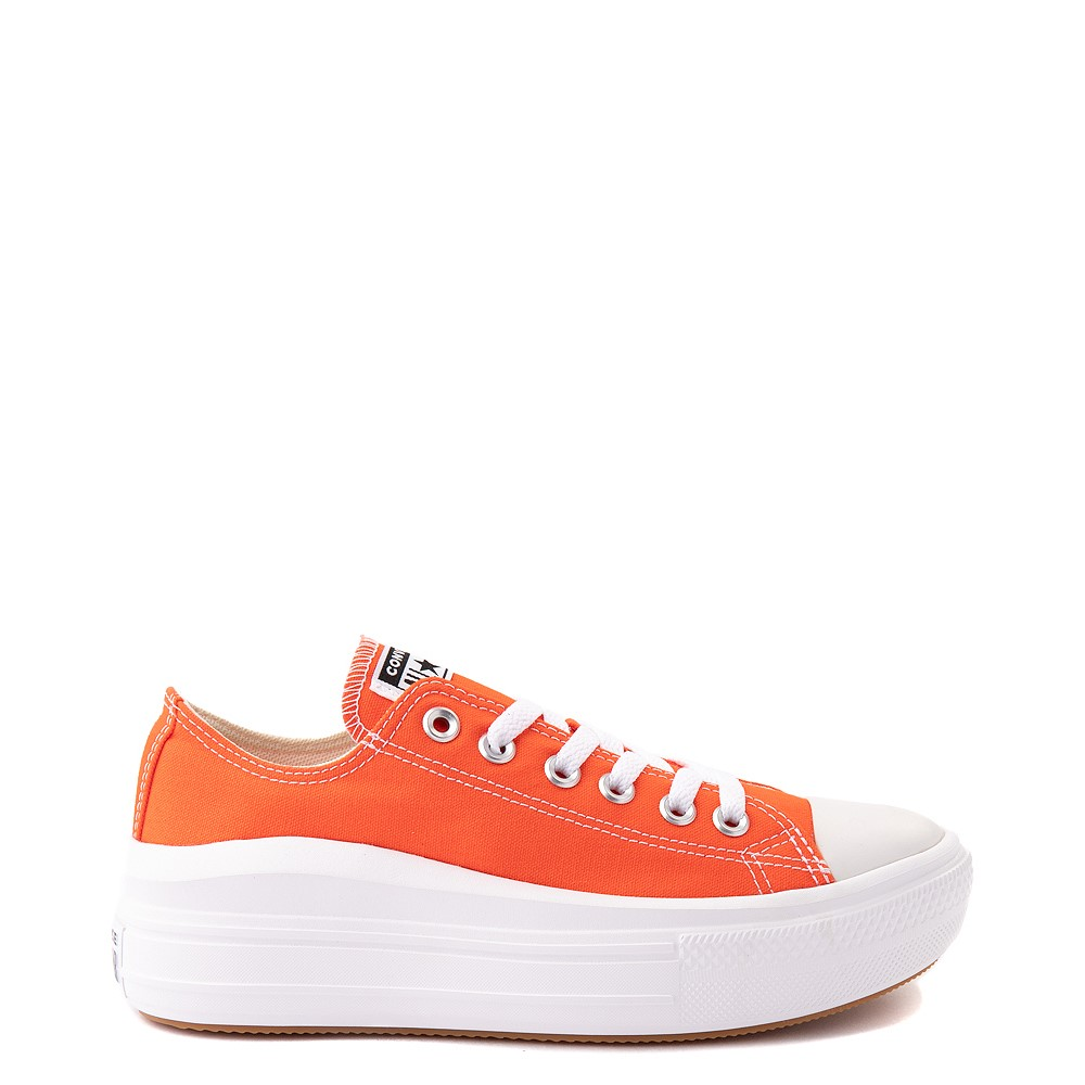 Womens Converse Chuck Taylor All Star Lo Move Platform Sneaker - Bright Poppy