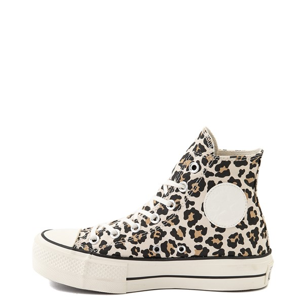 alternate view Womens Converse Chuck Taylor All Star Hi Platform Sneaker - LeopardALT1