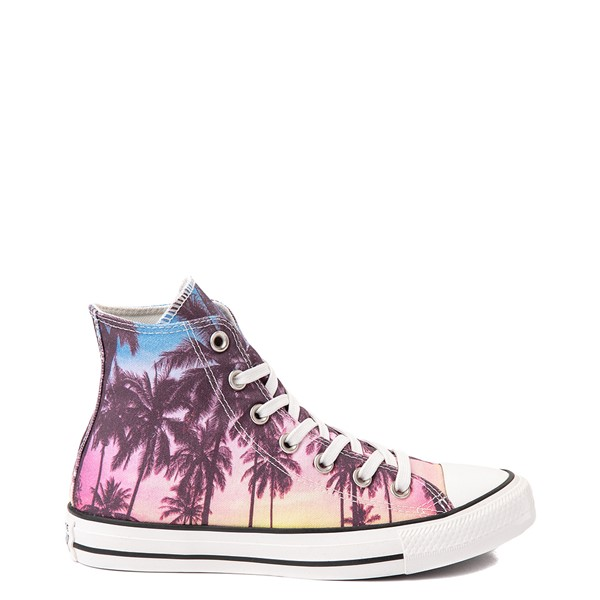 Main view of Converse Chuck Taylor All Star Hi Palm Tree Sunset Sneaker - Multicolor