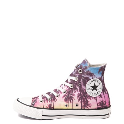 Alternate view of Converse Chuck Taylor All Star Hi Palm Tree Sunset Sneaker - Multicolor