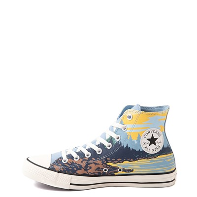 Alternate view of Converse Chuck Taylor All Star Hi National Parks Sneaker - Sea Salt Blue / Banana Cake