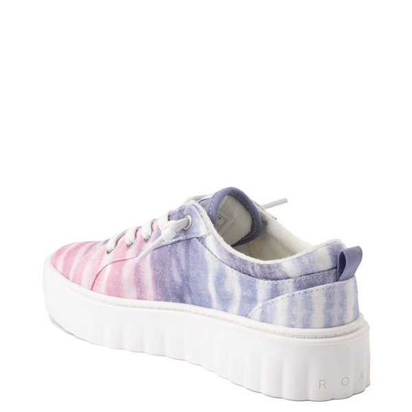 alternate view Womens Roxy Sheilahh Platform Casual Shoe - Pastel OmbreALT1
