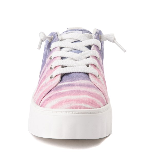 alternate view Womens Roxy Sheilahh Platform Casual Shoe - Pastel OmbreALT4