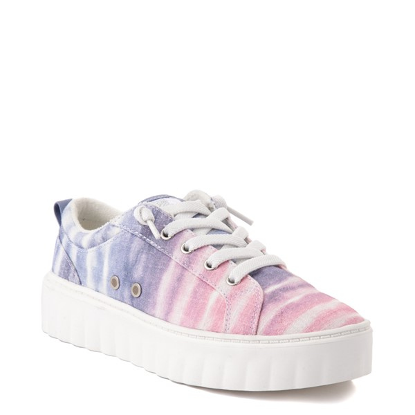 alternate view Womens Roxy Sheilahh Platform Casual Shoe - Pastel OmbreALT5