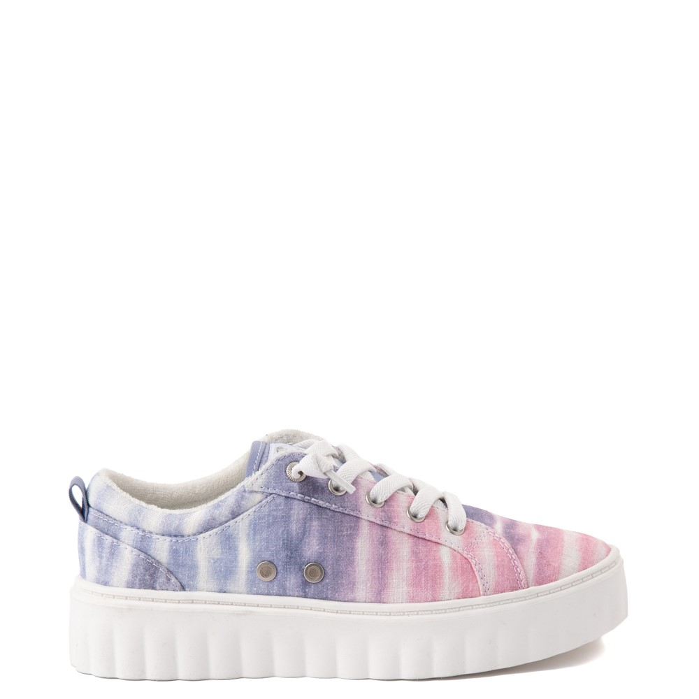Womens Roxy Sheilahh Platform Casual Shoe - Pastel Ombre