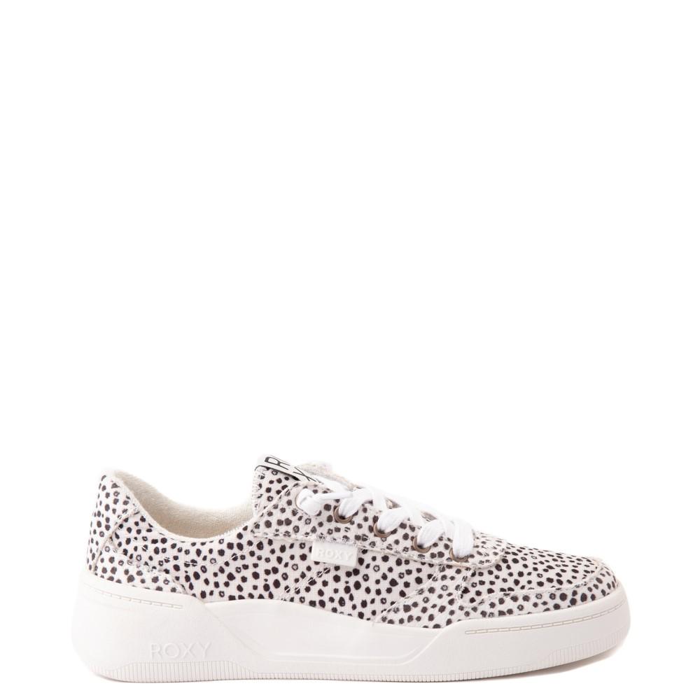 Womens Roxy Harper Slip On Casual Shoe - Leopard