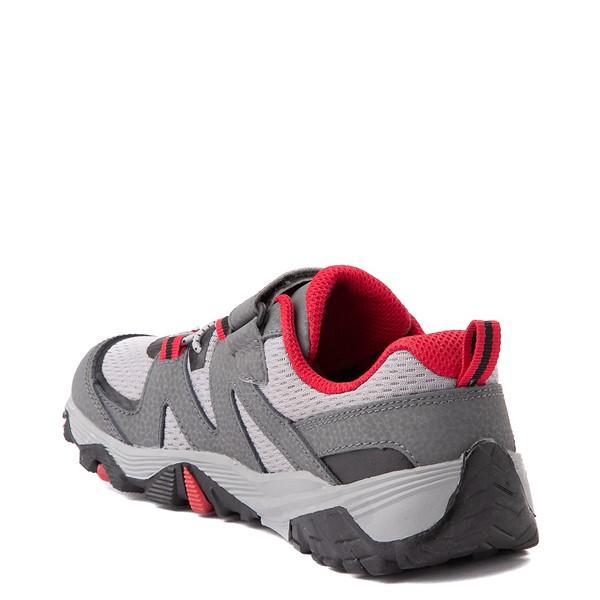 alternate view Merrell Trail Quest Athletic Shoe - Little Kid / Big Kid - Gray / RedALT1