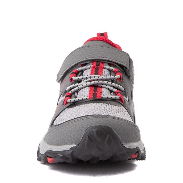 alternate view Merrell Trail Quest Athletic Shoe - Little Kid / Big Kid - Gray / RedALT4