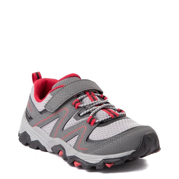 alternate view Merrell Trail Quest Athletic Shoe - Little Kid / Big Kid - Gray / RedALT5