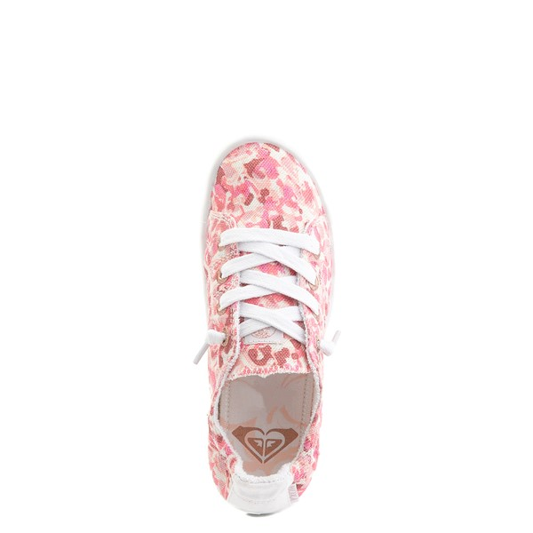alternate view Roxy Bayshore Casual Shoe - Little Kid / Big Kid - Pink LeopardALT4B