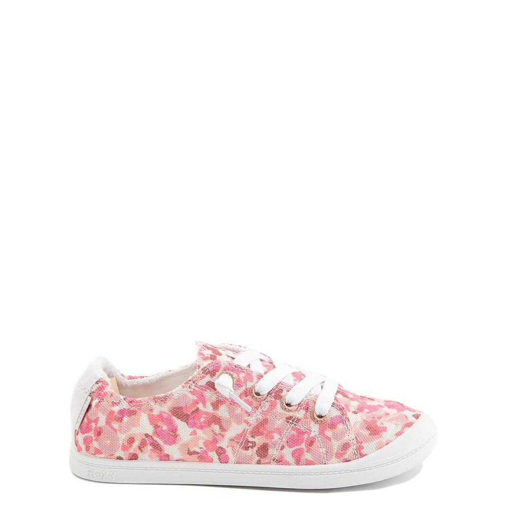 Roxy Bayshore Casual Shoe - Little Kid / Big Kid - Pink Leopard