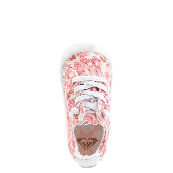 alternate view Roxy Bayshore Casual Shoe - Toddler - Pink LeopardALT4B