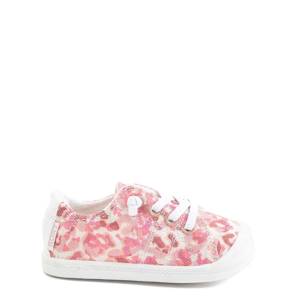 Roxy Bayshore Casual Shoe - Toddler - Pink Leopard