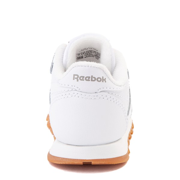 alternate view Reebok Classic Athletic Shoe - Baby / Toddler - WhiteALT4