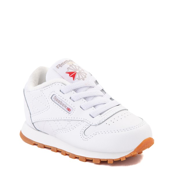 alternate view Reebok Classic Athletic Shoe - Baby / Toddler - WhiteALT5
