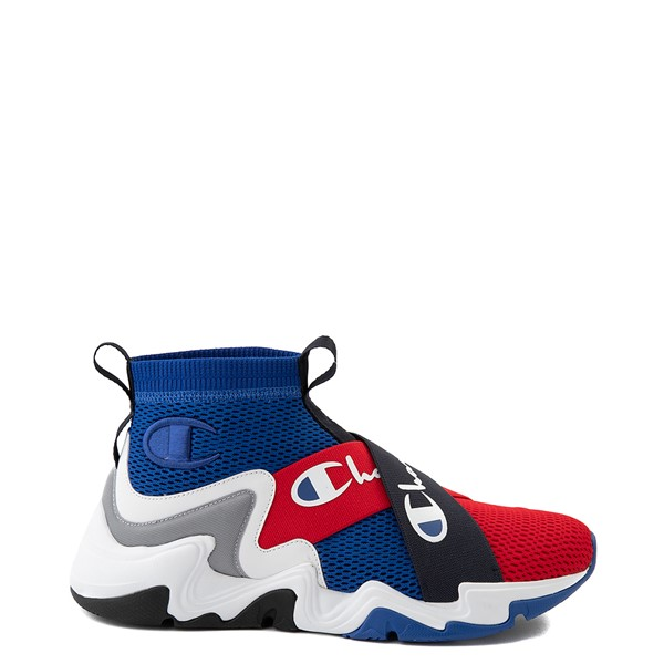 Mens Champion Hyper C X Athletic Shoe - Blue / Red / White