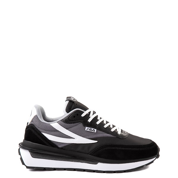Main view of Mens Fila Renno Athletic Shoe - Black / Gray