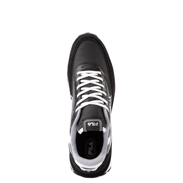 alternate view Mens Fila Renno Athletic Shoe - Black / GrayALT2