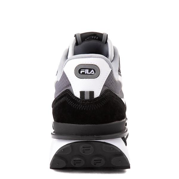 alternate view Mens Fila Renno Athletic Shoe - Black / GrayALT4