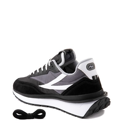 Alternate view of Mens Fila Renno Athletic Shoe - Black / Gray