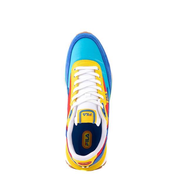 alternate view Womens Fila Renno Athletic Shoe - Atomic Blue / Prince Blue / Fiery RedALT4B