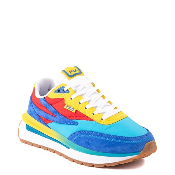 alternate view Womens Fila Renno Athletic Shoe - Atomic Blue / Prince Blue / Fiery RedALT5