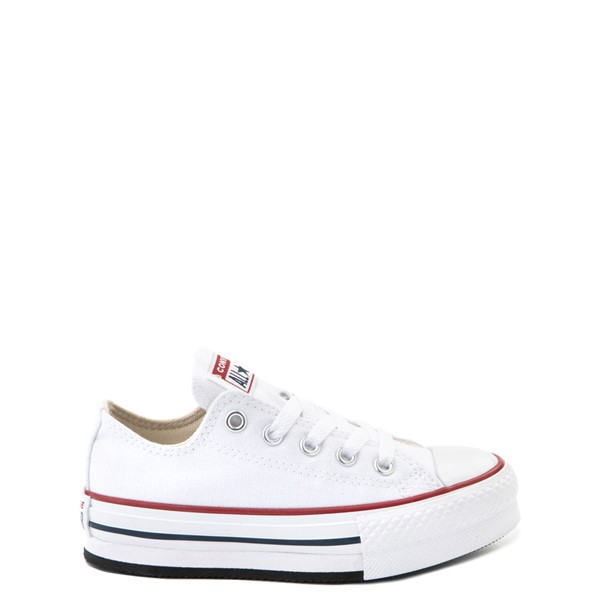 Main view of Converse Chuck Taylor All Star Lo Platform Sneaker - Little Kid / Big Kid - White