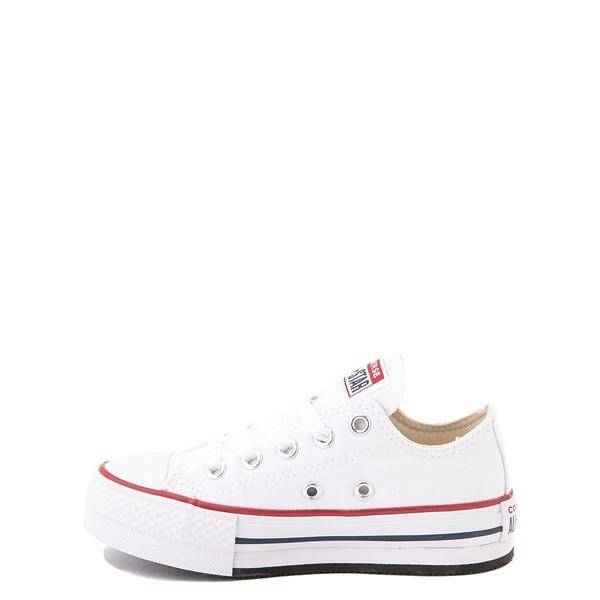 alternate view Converse Chuck Taylor All Star Lo Platform Sneaker - Little Kid / Big Kid - WhiteALT1