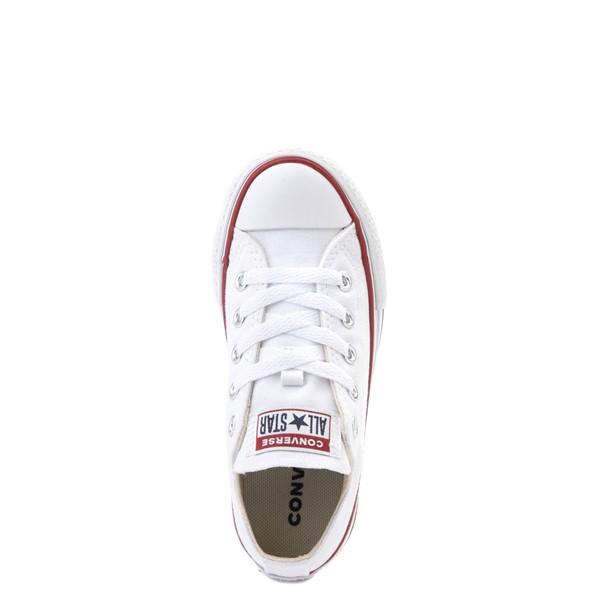 alternate view Converse Chuck Taylor All Star Lo Platform Sneaker - Little Kid / Big Kid - WhiteALT2