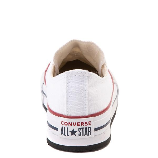 alternate view Converse Chuck Taylor All Star Lo Platform Sneaker - Little Kid / Big Kid - WhiteALT4