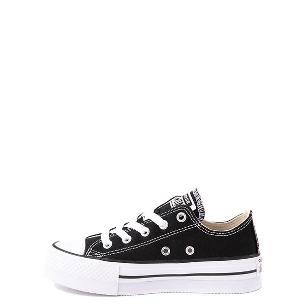 alternate view Converse Chuck Taylor All Star Lo Platform Sneaker - Little Kid / Big Kid - BlackALT1