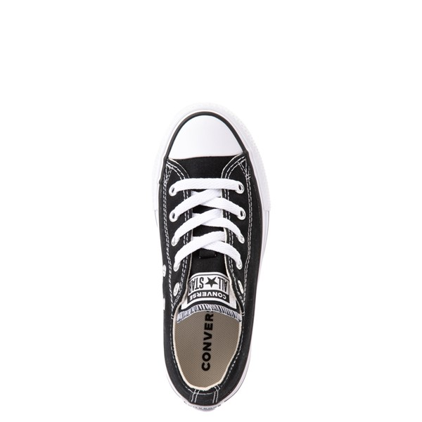 alternate view Converse Chuck Taylor All Star Lo Platform Sneaker - Little Kid / Big Kid - BlackALT2