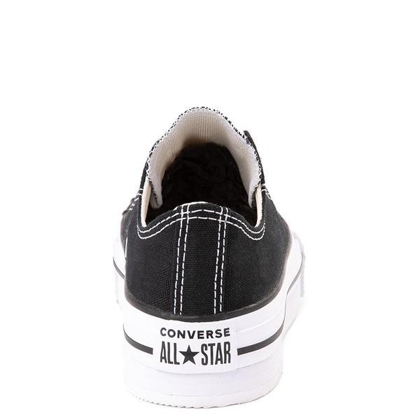 alternate view Converse Chuck Taylor All Star Lo Platform Sneaker - Little Kid / Big Kid - BlackALT4