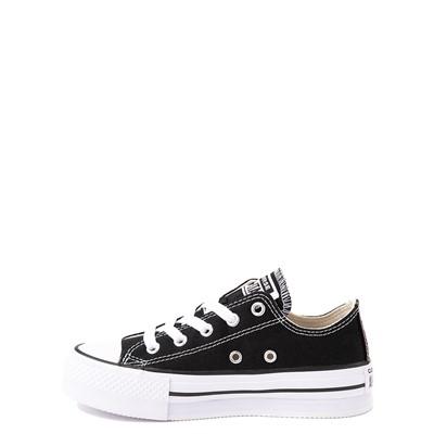 Alternate view of Converse Chuck Taylor All Star Lo Platform Sneaker - Little Kid / Big Kid - Black