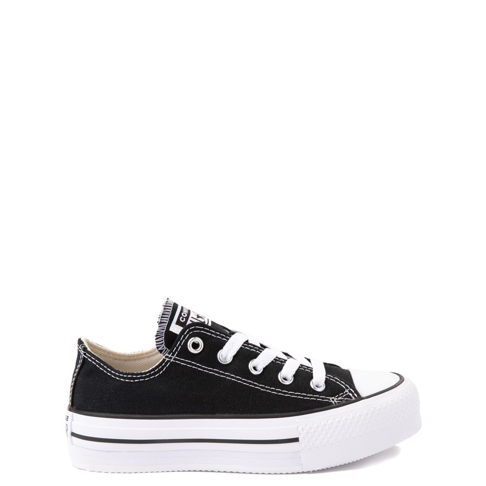 Converse Chuck Taylor All Star Lo Platform Sneaker - Little Kid / Big Kid - Black