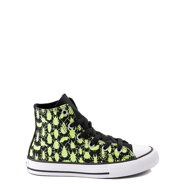 Converse Chuck Taylor All Star Hi Glow Bugs Sneaker - Little Kid / Big Kid - Black