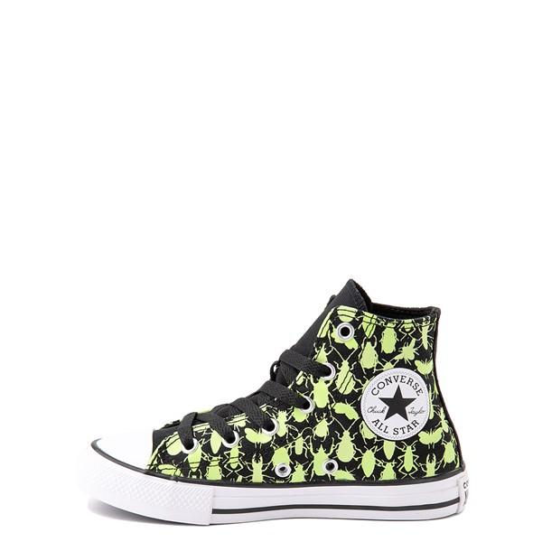 alternate view Converse Chuck Taylor All Star Hi Glow Bugs Sneaker - Little Kid / Big Kid - BlackALT1B