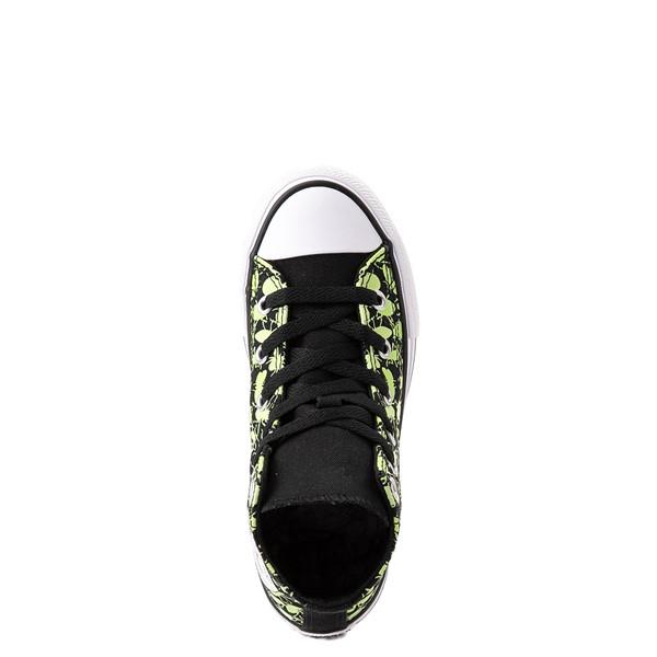 alternate view Converse Chuck Taylor All Star Hi Glow Bugs Sneaker - Little Kid / Big Kid - BlackALT2