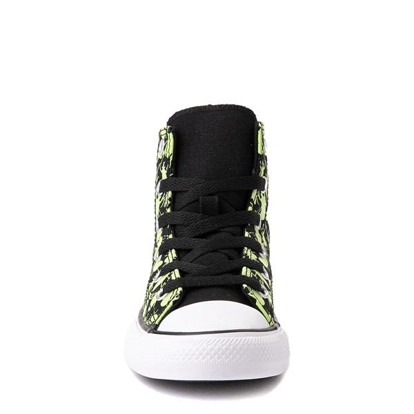 alternate view Converse Chuck Taylor All Star Hi Glow Bugs Sneaker - Little Kid / Big Kid - BlackALT4