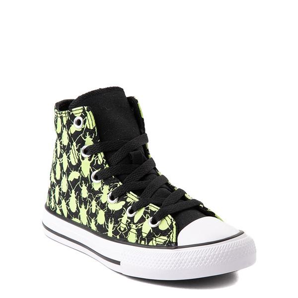 alternate view Converse Chuck Taylor All Star Hi Glow Bugs Sneaker - Little Kid / Big Kid - BlackALT5