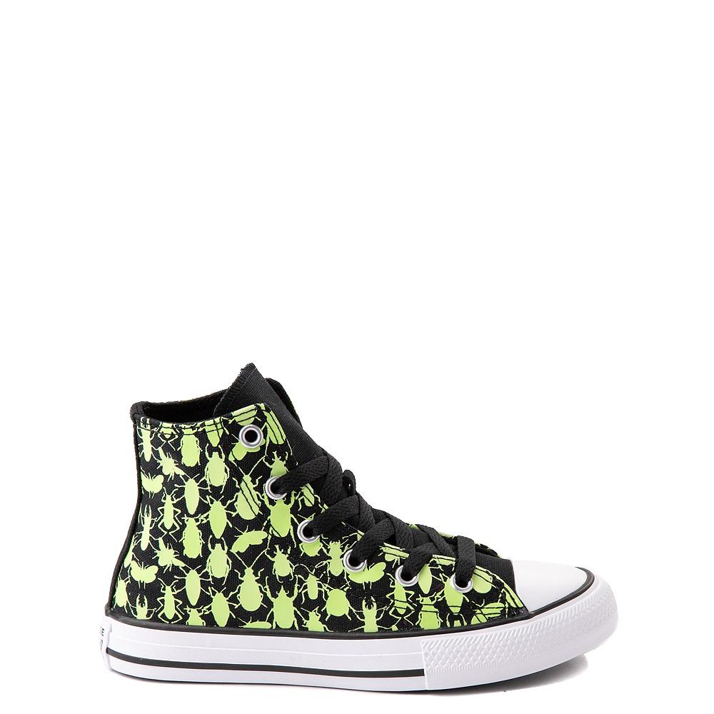 Converse Chuck Taylor All Star Hi Glow Bugs Sneaker - Little Kid / Big Kid - Black