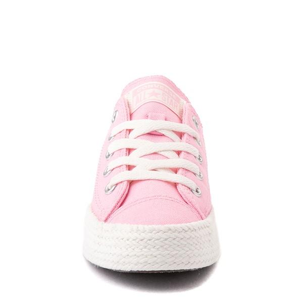 alternate view Converse Chuck Taylor All Star Espadrille Sneaker - Little Kid / Big Kid - PinkALT4
