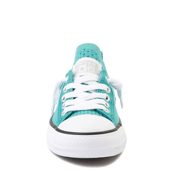 alternate view Converse Chuck Taylor All Star Shoreline Knit Sneaker - Little Kid / Big Kid - Harbor TealALT4